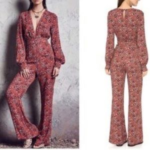 FREE PEOPLE Lisa Some Like It Hot Jumpsuit Size 2